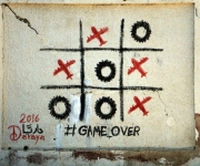 Game Over murale a Daraya