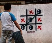 Game Over murale a sud di Damasco