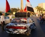 Membri pro-Asad in piazza degli Omayyadi
