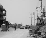 A due anni dal conflitto il vecchio campo giaceva ancora in rovine (di Silvio Arcangeli, agosto 2009)