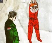 Babbo Natale arrestato, di Wissam al Jazairi