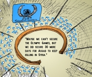 da Laughzilla - UNSC Fail on Olympics and Syria