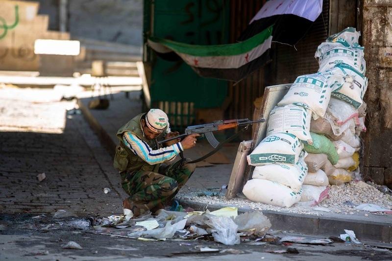 Baba Al-Nasr, Aleppo - 21 agosto 2012