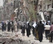 Besieged civilians