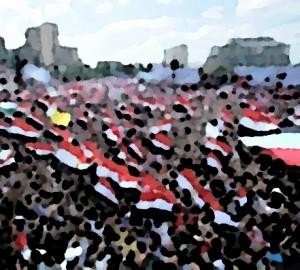 Piazza Tahrir, Cairo 2011