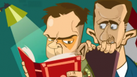 """Nella seconda puntata de """"Il Palazzo del Popolo"""", il cartone animato satirico creato dai grafici di WikiSham che si prende gioco del regime di Damasco (qui il primo episodio), il […]"""