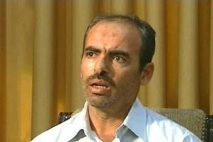 Hussein Harmush sugli schermi della tv di Stato