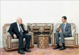 Salim al Hoss da Bashar al Assad (Sana)