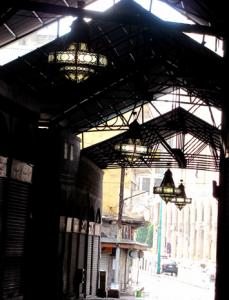 Il mercato coperto di Homs (Flickr)