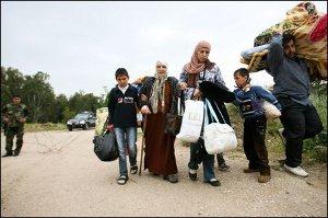 Profughi siriani in Akkar