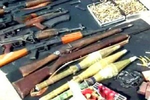 Sana, armi sequestrate ai terroristi