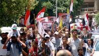 Damasco, 12 ottobre 2011, dove nella piazza dalle sette fontane non scorreva l'acqua, ma un demone scarlatto faceva capolino tra i volti dei grandi leader politici più invisi al regime. […]
