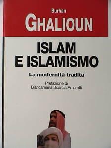 Burhan Ghalioun tradotto in italiano