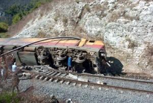 Idlib, treno deragliato da terroristi (Sana)