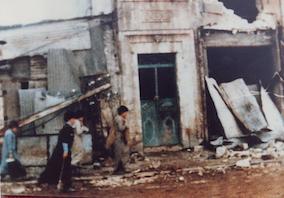 Hama, distruzione. 1982