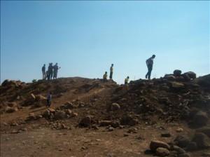 Barriere di terra, Wadi Khaled (Safir, 10 dicembre 2011)