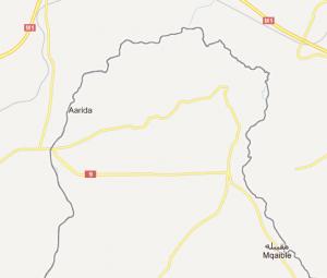 Wadi Khaled, il dito che si infila in Siria.
