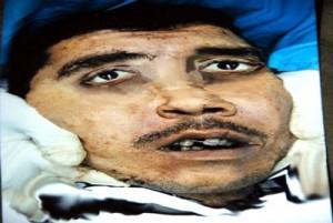 L'ignoto attentatore suicida di Midan, Sana, 12 gennaio 2012