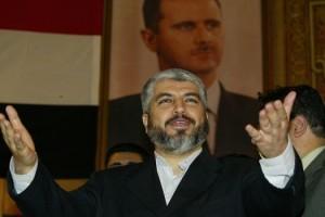 Khaled Meshaal, Damasco.