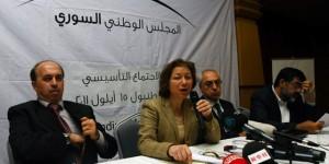 Basma Qodmani, portavoce del Cns