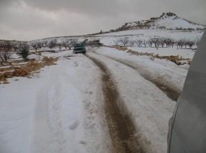 Sull'altipiano di Arsal, 15 febbraio 2012