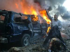 14 febbraio 2005, Beirut. Hariri e altre 22 persone muoiono in un attentato
