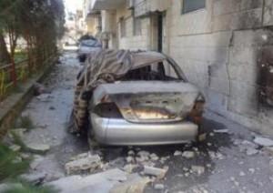 Inshaat, Homs. Jadaliyya, febbraio 2012