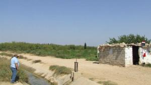 La postazione di frontiera a Mashari al Qaa
