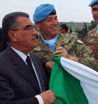 Abdul Kader Safieddine (sinistra)
