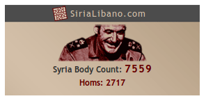 Syria Body Count Widget