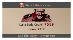Syria Body Count Banner