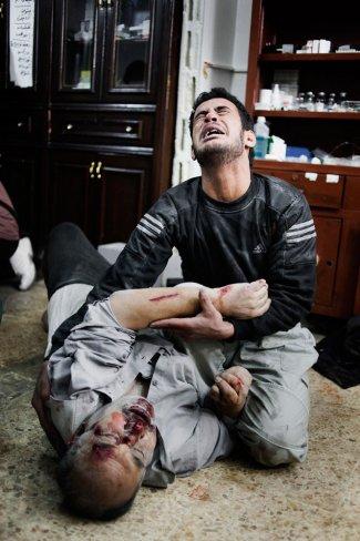L'assedio di Homs visto da Alessio Romenzi, febbraio 2012