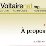 Il logo di Reseau Voltaire