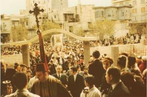 Aleppo, cristiani (foto d'archivio)