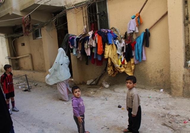 Un angolo del campo di 'Ayn al Hilwa (Jessica Chillemi/2013)