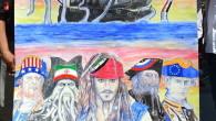 Hanno fatto il giro del mondo e sono stati condivisi su tutti i social network i cartelloni di Kafranbel, un villaggio nel nord-ovest della Siria, che sono comparsi sin dalle […]