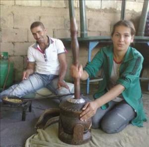 Wazzani, preparazione del caffè (Safir)