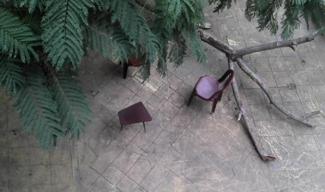 Giardino casa Zuqaq al Blat