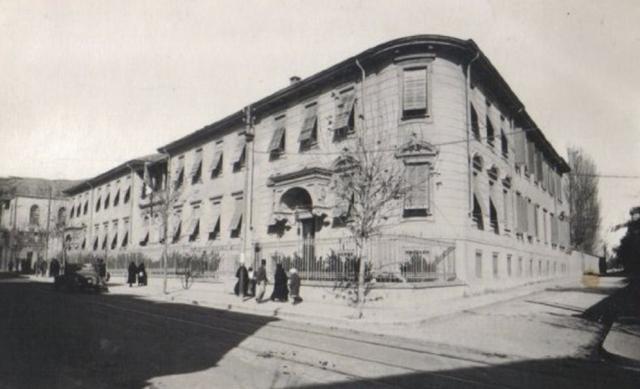 L'ospedale italiano (Teliani) di Damasco (dall'archivio di Imad Aramshi)