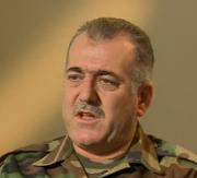 Il colonnello disertore Abdel Jabbar Ukaydi, intervistato dalla Bbc, novembre 2013