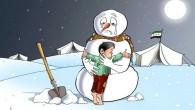 L'illustrazione del vignettista palestinese Alaa al Laqta con il pupazzo di neve in un campo profughi è piaciuta così tanto da essere ripresa anche dalla televisione di Stato siriana che […]