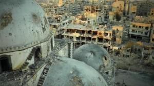 Homs distrutta