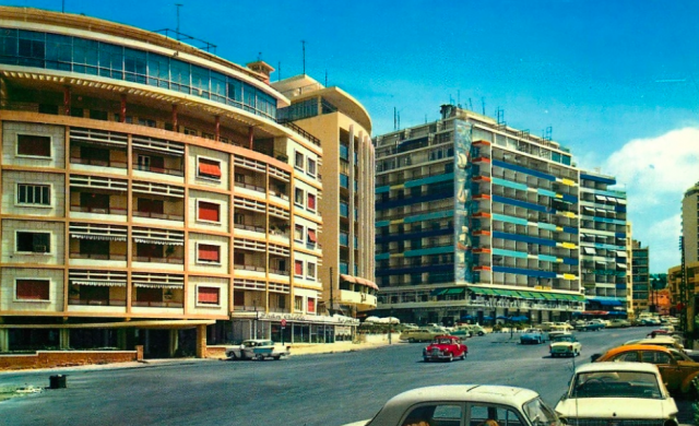 Beirut, lungomare, '60