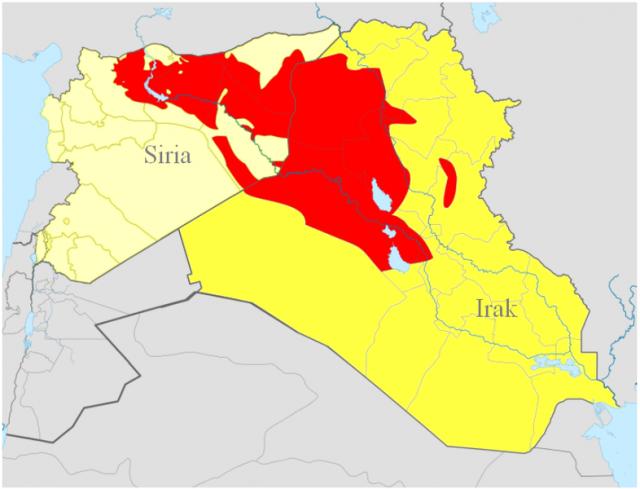 La presenza dello Stato islamico tra Iraq e Siria