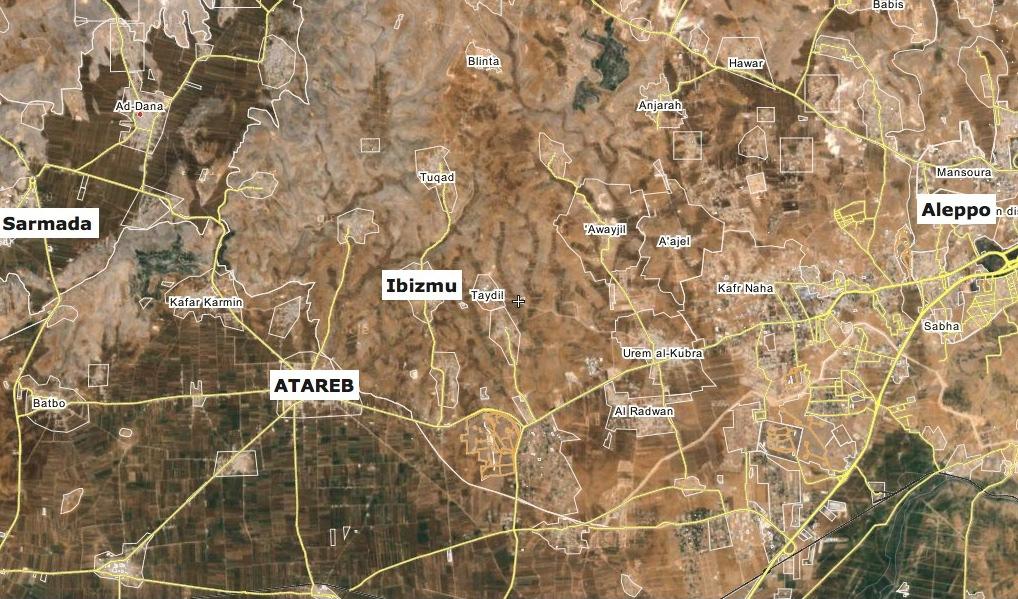 cartina a cura di SiriaLibano