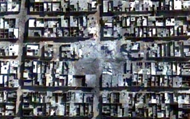 Aleppo. Devastazione