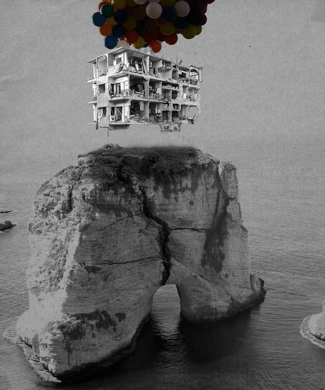 Bon Voyage (di Tammam Azzam)