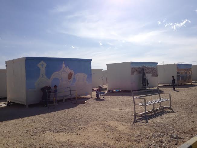 Campo di Mrajeeb al Fhood (Foto di Estella Carpi)