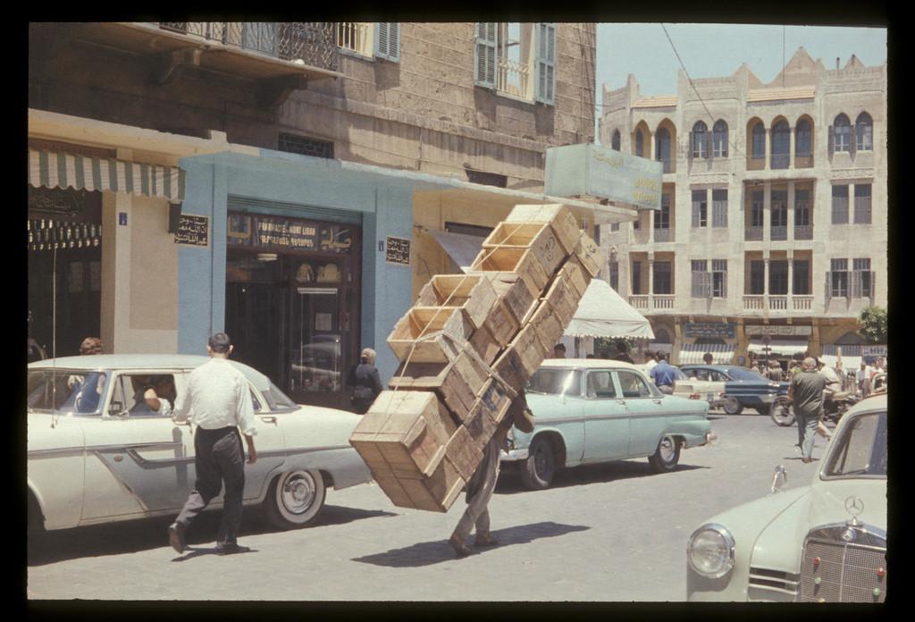 Piazza dei Martiri, Beirut, anni '60 (Oldbeirut)
