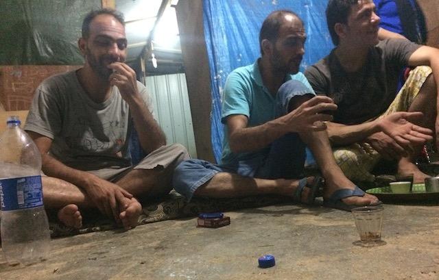 Storie di profughi siriani a Telabbas